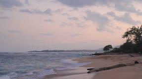 Beach, Clouds, Dawn Stock Photos
