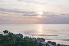 Beach, Clouds, Horizon Royalty Free Stock Photo