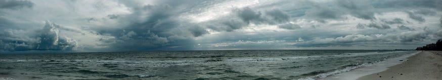 Beach, Clouds, Landscape Stock Photo