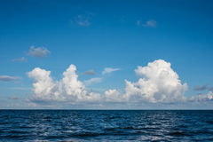 Beach cloudscape Royalty Free Stock Image