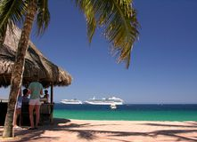 Beach Club Royalty Free Stock Photo