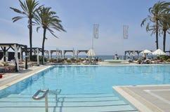Beach club Royalty Free Stock Image