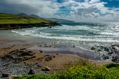 Beach at the Coast of Ireland Stock Images
