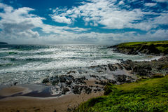 Beach at the Coast of Ireland Stock Photos
