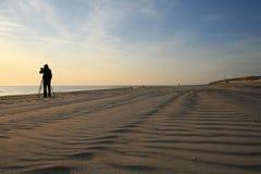 Beach coast sand Baltic sea Stock Photography