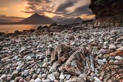 Beach, Coast, Stones, Rock, Sea Royalty Free Stock Photos