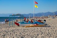 The Resort Town of Viareggio royalty free stock images