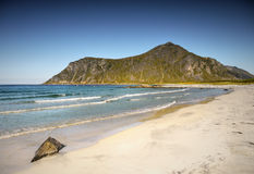 Beach, Coastline, Lofoten Stock Photos
