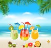 Beach Cocktail Stock Photography