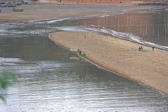 Beach comb - Xiapu scenery stock photos