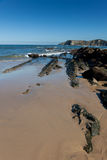 Beach of Comillas Stock Image