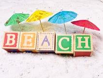 Beach Concept 2 Stock Photography