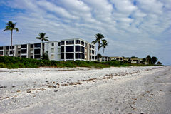 Beach Condominium Stock Images