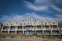 Beach condos Stock Photography
