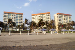 Beach Condominiums Royalty Free Stock Image