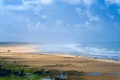 Beach at Conil Stock Photos