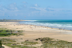 Beach at Conil Stock Image