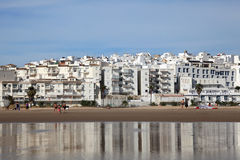Beach of Conil de la Frontera, Spain Stock Photos