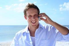 Beach Conversation royalty free stock photos