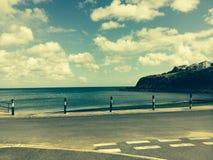 Beach in cornwall Stock Photo