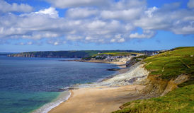 Beach, Cornwall, England Royalty Free Stock Photography