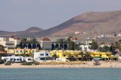Beach in Corralejo, Fuerteventura Stock Photos