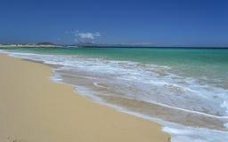Beach at Corralejo, Fuerteventura Island Royalty Free Stock Images