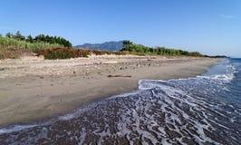 Beach in corsica island Royalty Free Stock Photos