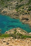 Beach in Costa Brava. Cap de Creus national park / Mediterranean sea coast / Costa Brava, Spain Stock Photo