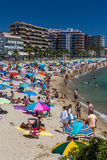 Beach on the Costa Brava (Sant Antoni de Calonge) Stock Photo