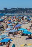 Beach on the Costa Brava (Sant Antoni de Calonge) Stock Photos