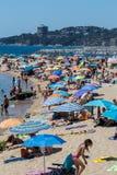Beach on the Costa Brava (Sant Antoni de Calonge) of Spain Stock Photos