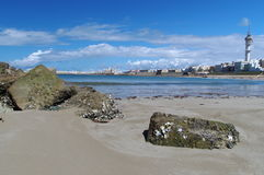 Beach of Costa de la Luz Stock Photos
