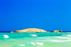 The beach of Costa Rei, Sardinia Royalty Free Stock Photography