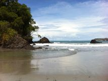 Beach in Costa Rica Stock Image