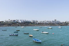 Beach in Costa Teguise Royalty Free Stock Image