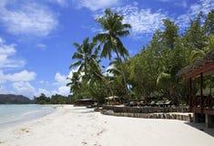 Beach Cote DOr near the hotel Paradise Sun Hotel Stock Photos