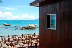 Beach cottage Stock Photo
