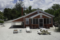 Beach Cottage in Captiva Royalty Free Stock Photography