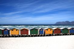 Beach, Cottage, Cottages Royalty Free Stock Photography