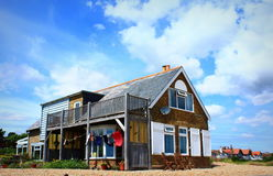 Beach cottage Royalty Free Stock Photography