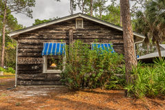 Beach Cottage in the Pinellas County Heritage Village, Largo, Fl Royalty Free Stock Photos