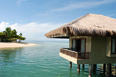 Free Beach Cottages On Water Stock Photo - 14113210