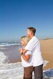 Beach couple Stock Photos