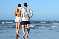 beach couple tropical стоковые фотографии rf