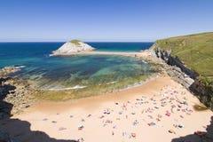 Beach of Covachos, Spain Stock Photo