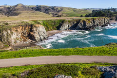 Beach Cove at Bodega Bay Area Royalty Free Stock Photography
