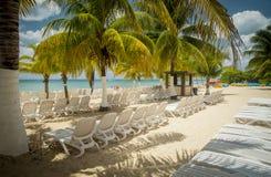 Beach on Cozumel Island Royalty Free Stock Photography