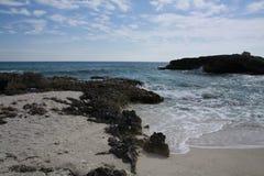 Beach in Cozumel Mexico Stock Image