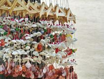 Beach Craft Product Hanging Decorative Seashell Mobile Royalty Free Stock Images